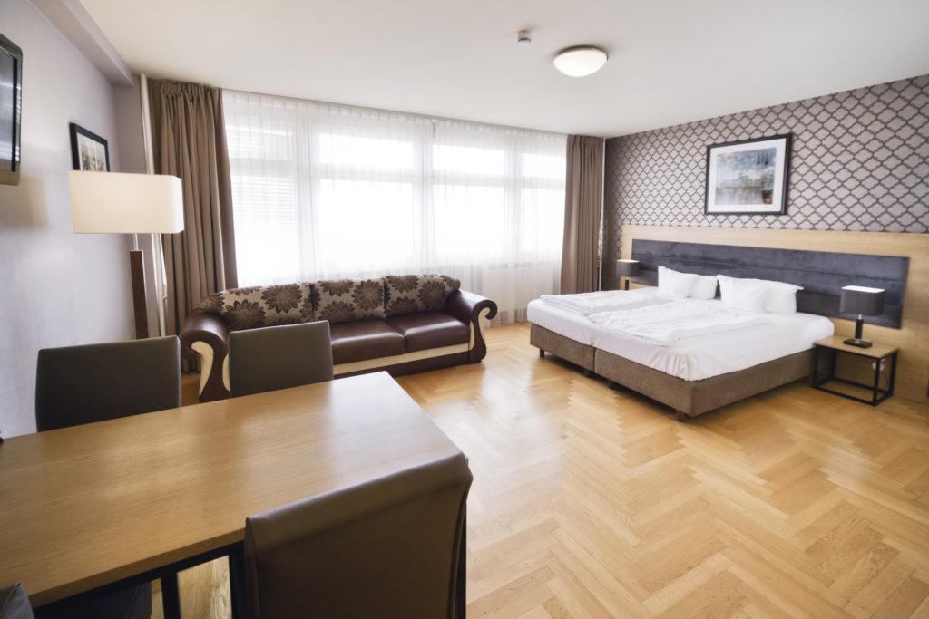 Comfort Studio Apartment mit Sofa / with Sofabed