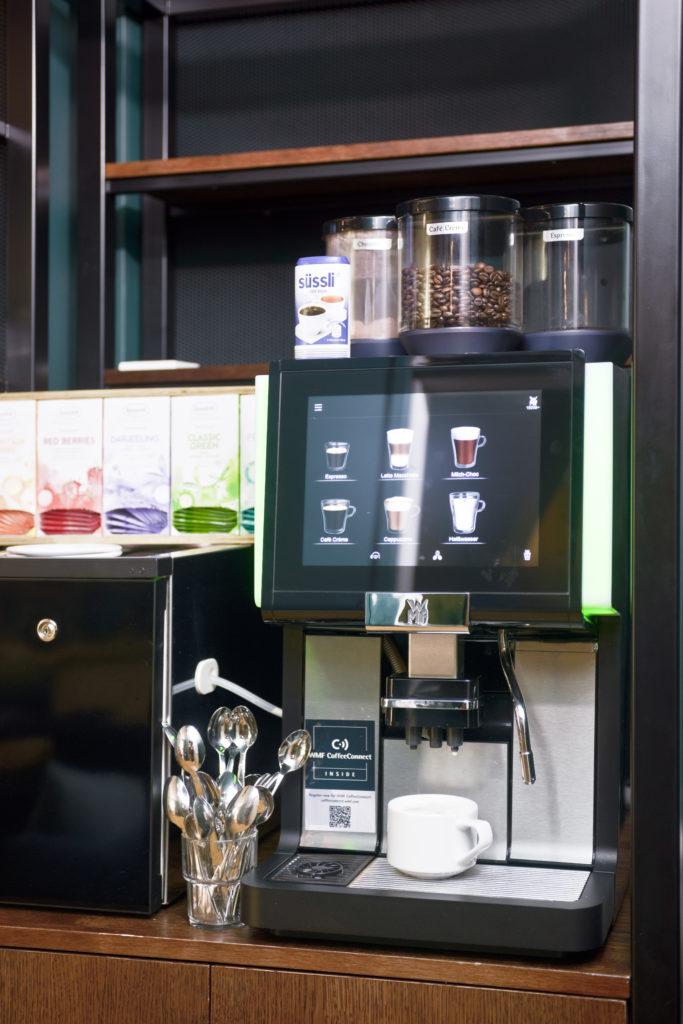 kostenfreie Heißgetränke / hot drinks free of charge